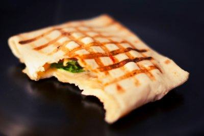 grilled pocket sandwich